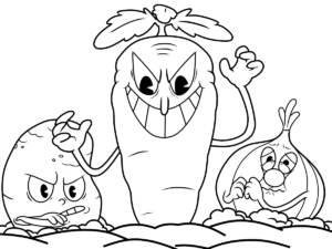 Cuphead Coloring Pages Coloring Pages Print Coloring Pages For