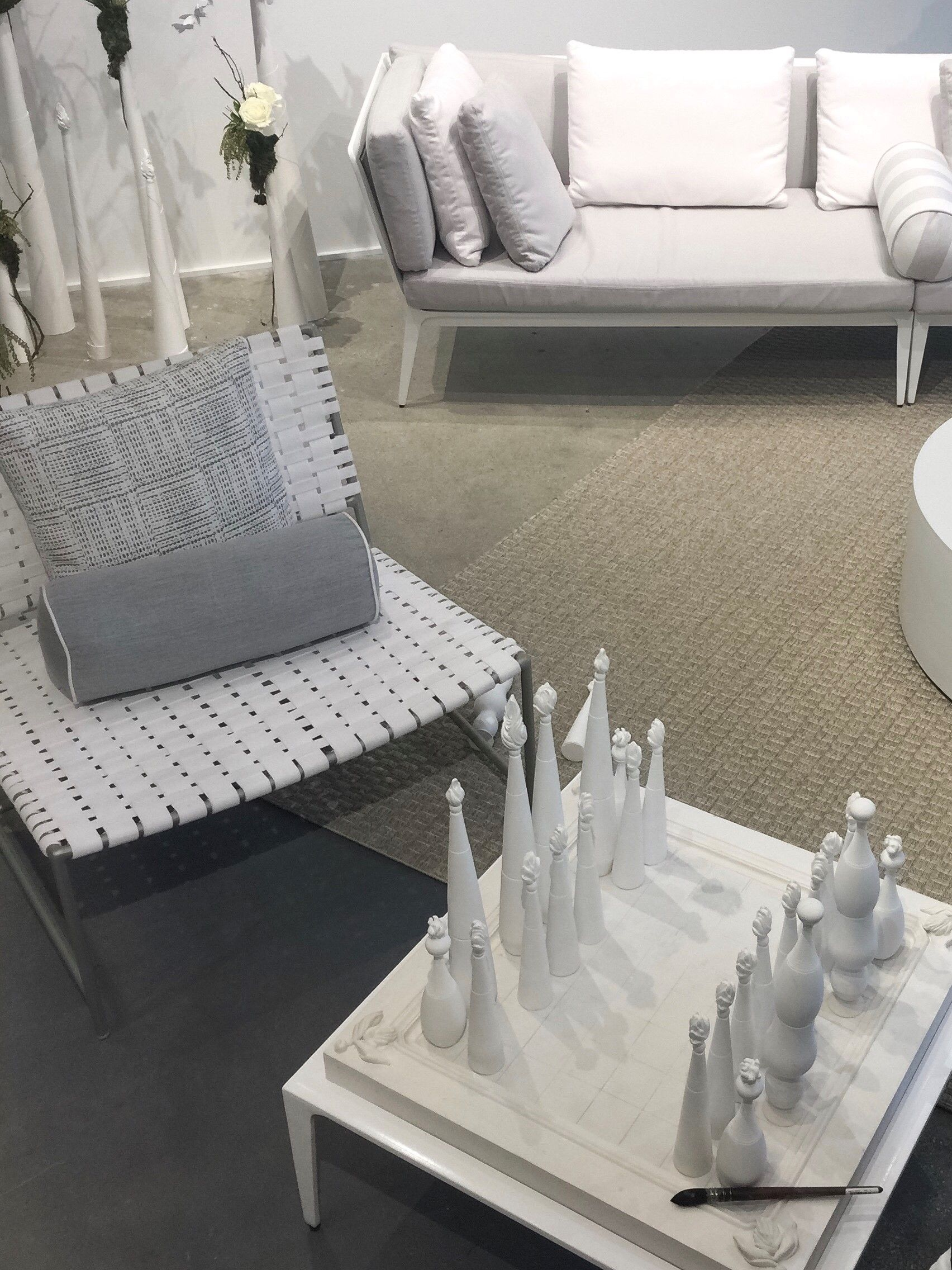a first look at tablescapes happening at today s outdoor design rh pinterest com