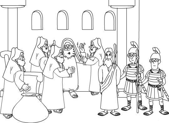 Dibujos Para Colorear La Pasión Muerte Y Resurrección De Jesús Todas Las Escenas Desde La Entrada En Jerusalén Hasta Bible Crafts Bible Class Bible Stories