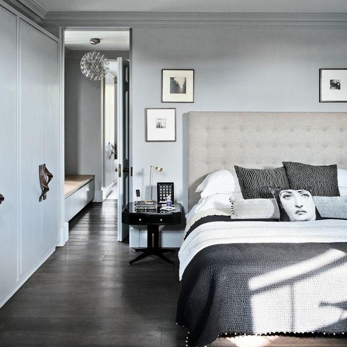 ▷ 1001 + Ideas sobre decoracion de habitación gris | Suelos de ...