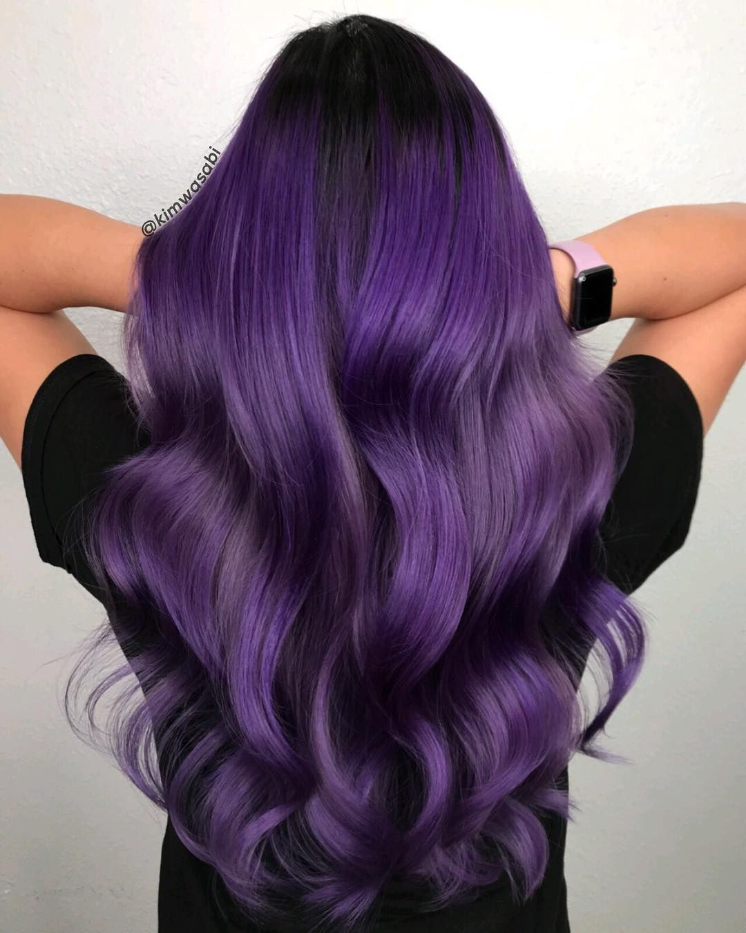 63 Purple Hair Color Ideas To Swoon Over Violet Purple Hair Dye Tips: Kimemily Pham On Instagram: My Favorite Color Of All Time