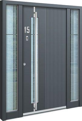 aluminium haust r gusen eine aluhaust r mit zwei. Black Bedroom Furniture Sets. Home Design Ideas
