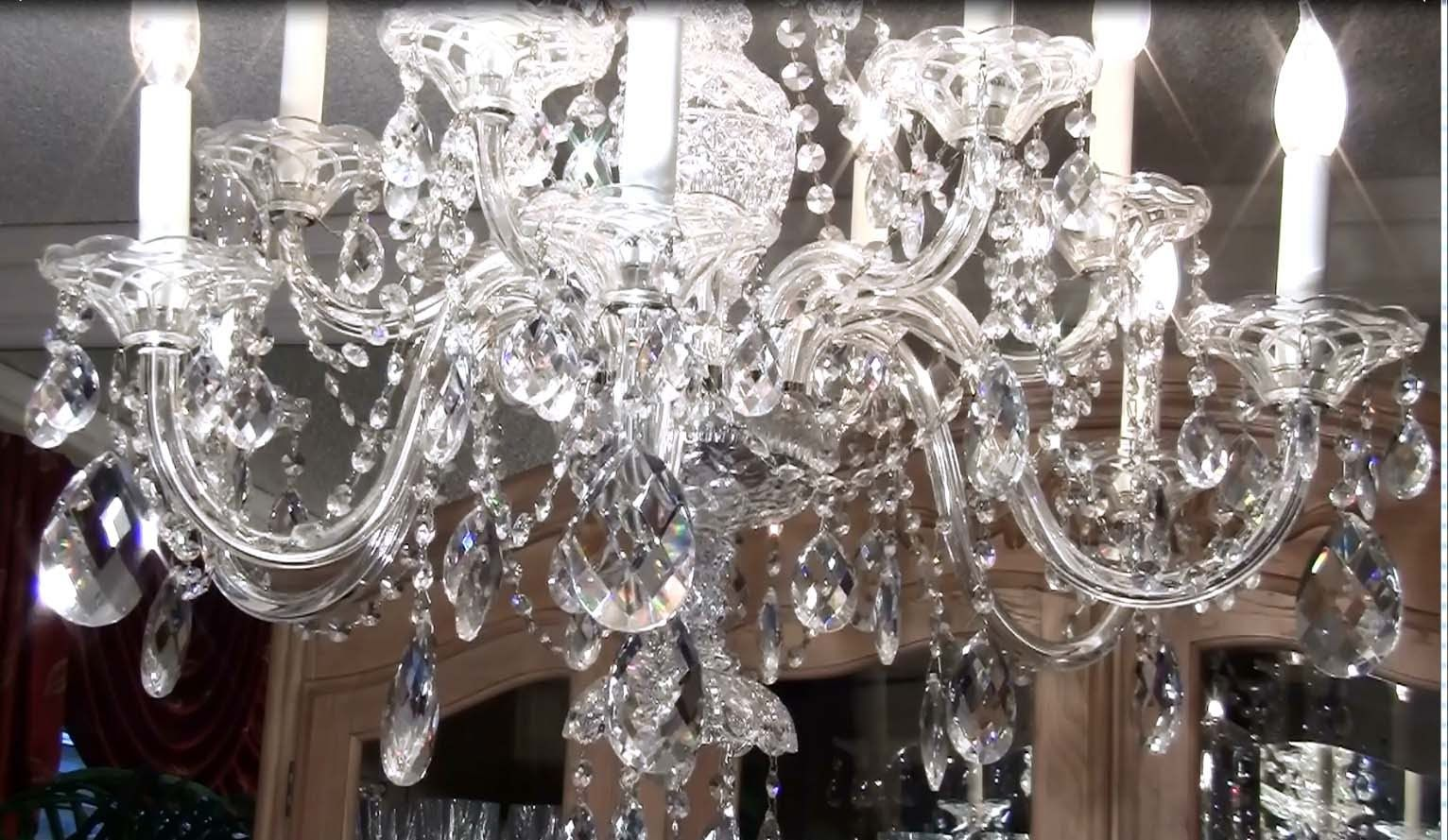 How to Clean a Crystal Chandelier Update How to clean