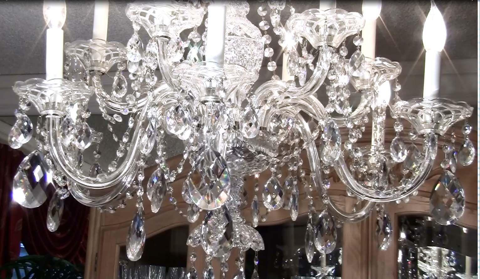 Kristall Kronleuchter Putzen ~ Kristall kronleuchter reinigen groß kristall kronleuchter antik