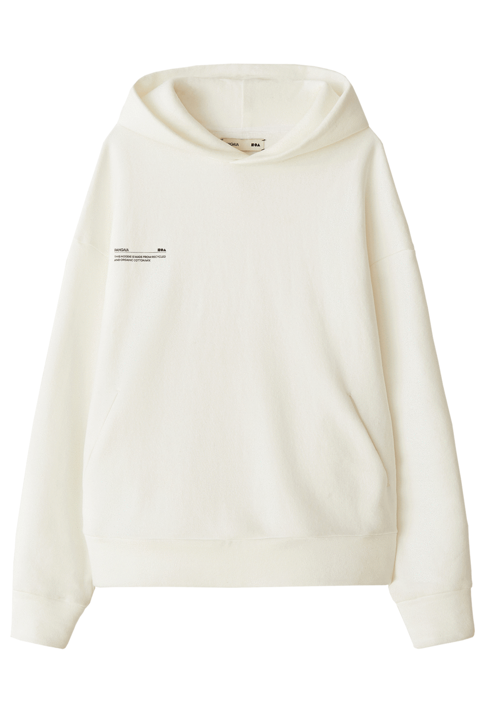 Recycled Cotton Hoodie Off White Pangaia Cotton Hoodie Off White Hoodie White Hoodie Women