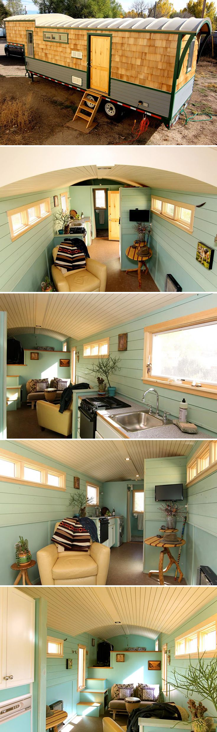 Fifth Wheel Tiny Home By Ken Leigh Sheds Barns Guest