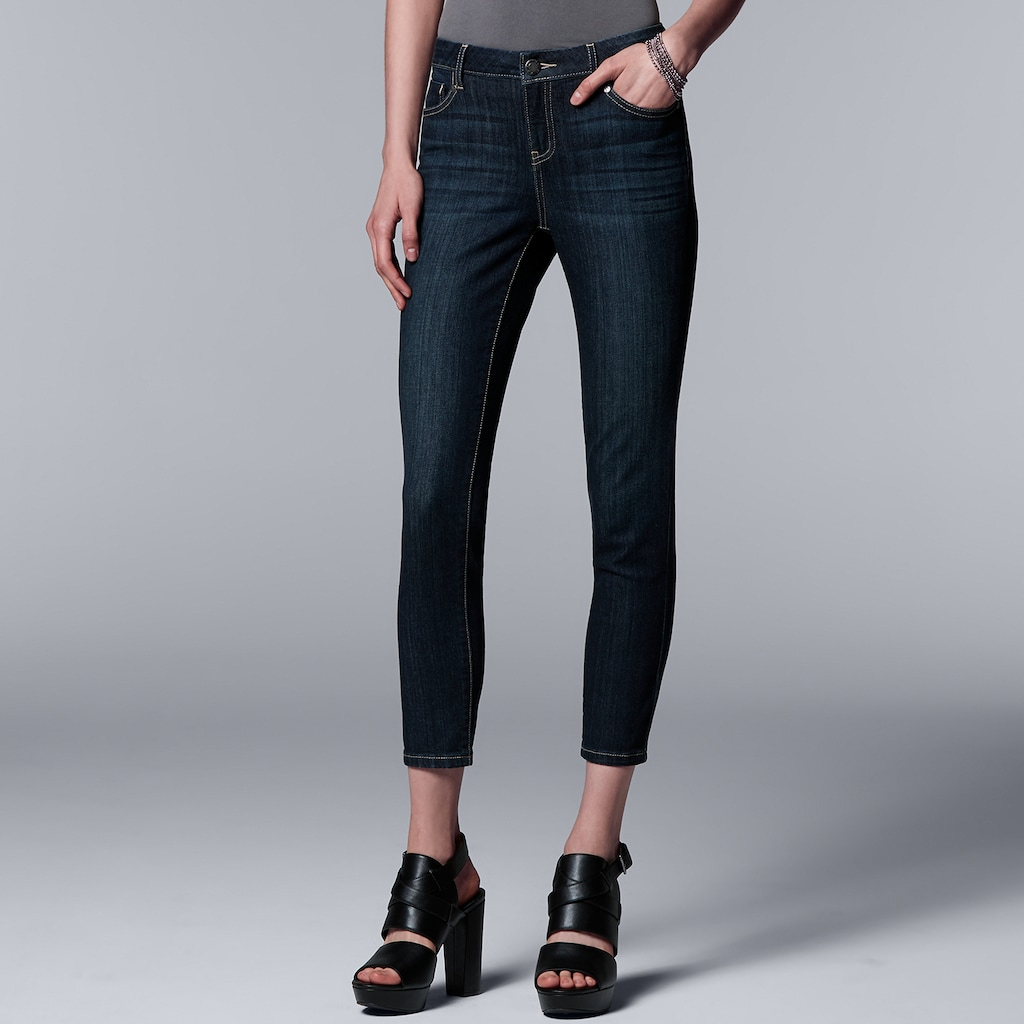 Womens Everyday Skinny Leg Jeans Simply Be