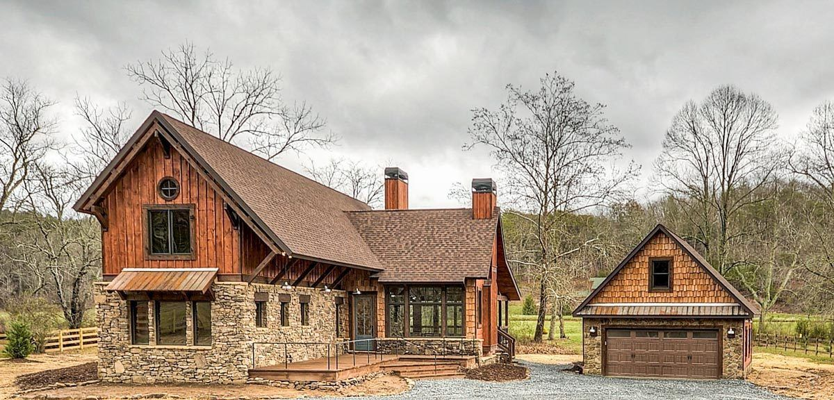 Rustic Mountain Getaway 18767CK Architectural
