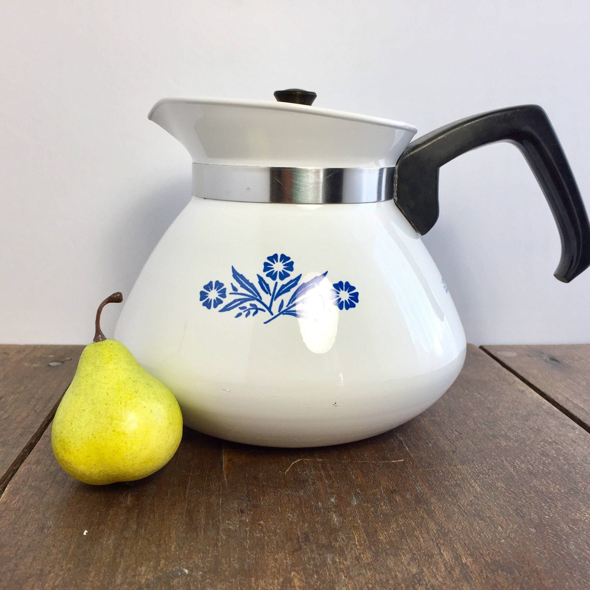 how to clean corningware teapot
