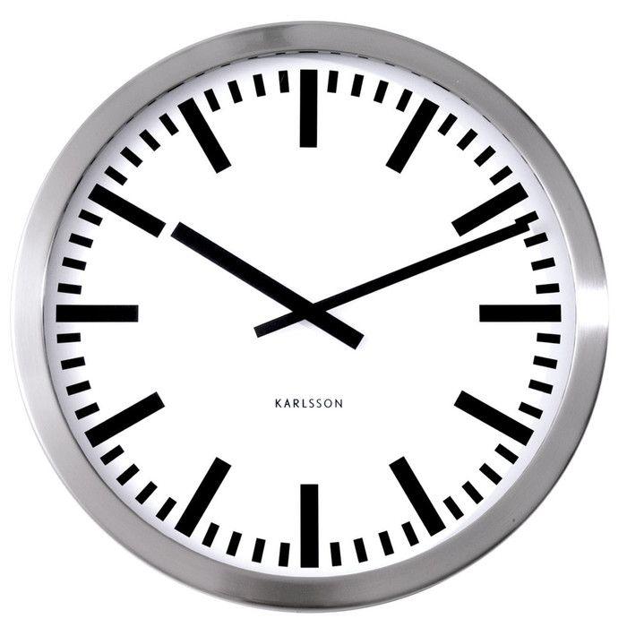 Station 50cm Wall Clock Haushalt Flur Pinterest Uhren Flure