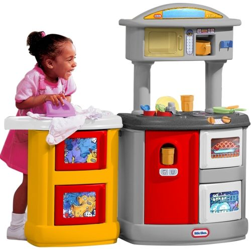 Little Tikes Double up Kitchen u0026 Laundry Centre  sc 1 st  Pinterest & Little Tikes Double up Kitchen u0026 Laundry Centre | Toys u0026 Games ...