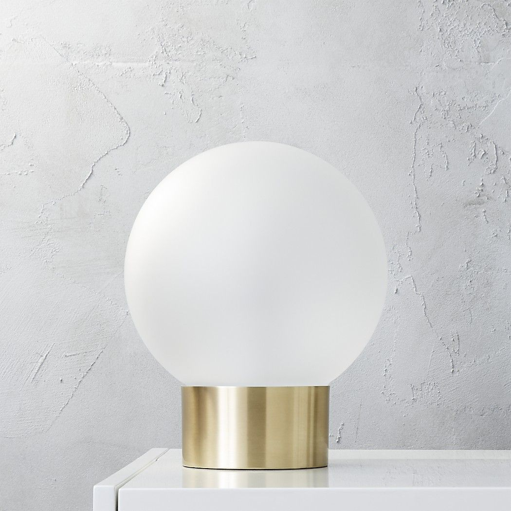 Shop oracle table lamp. Casting a subtle '70s aura, globe