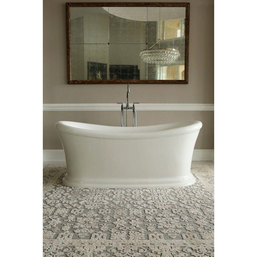 Make your bathroom unique with this Signature Bath freestanding tub ...