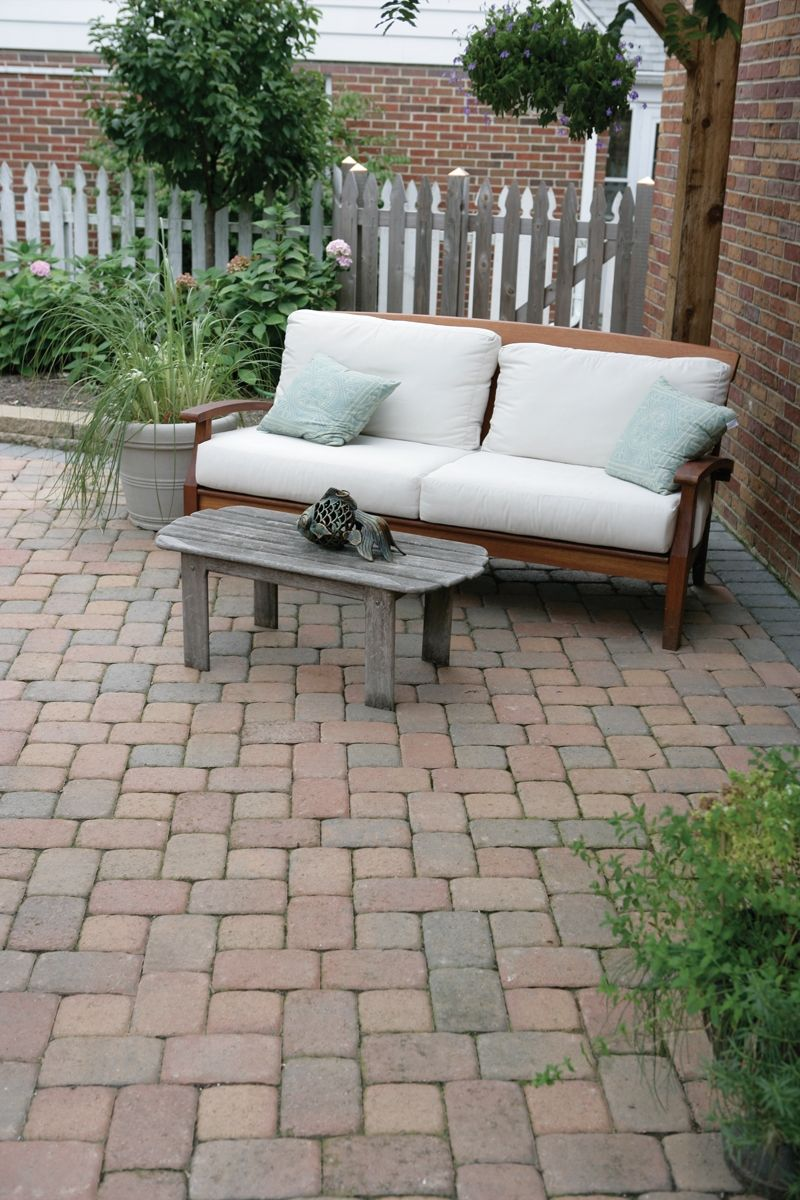 Old Town Blend Tumbled Plaza Concrete Paver   Google Search Pavers Patio,  Paver Pathway,