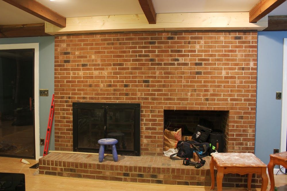 {Rewind} Building A Fireplace Facade: Building A Bulkhead To Intersect Beams