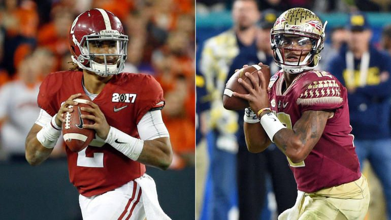 College football odds, Week 1 lines The best games could