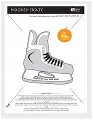 image regarding Hockey Skate Template Free Printable named Picture end result for hockey skate template cost-free printable