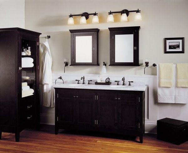 Lowes Bathroom Lighting Brushed Nickel With Images Bathroom