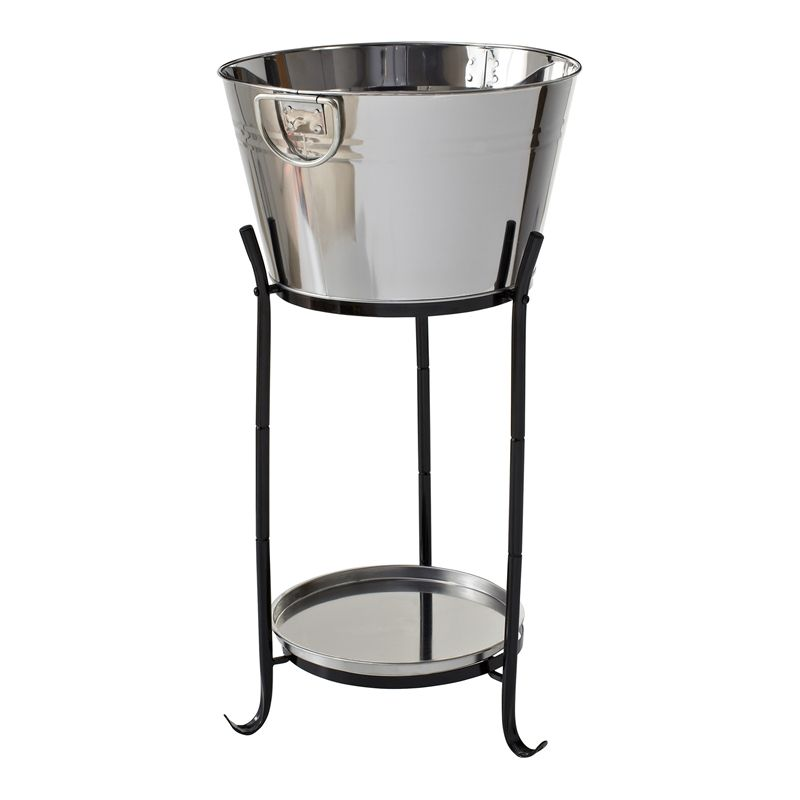 Mimosa Stainless Steel Drinks Cooler With Stand I N
