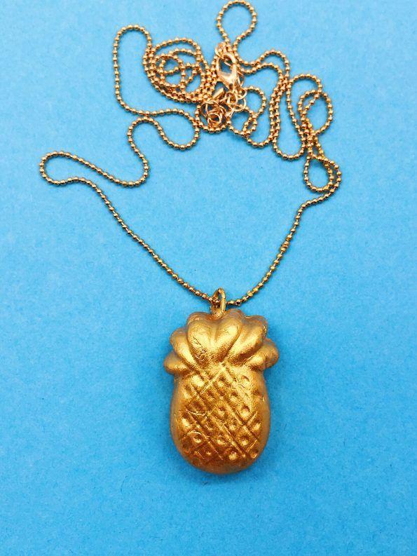Modelliermasse Tipps ananas anhänger diy geschenke selber machen diy