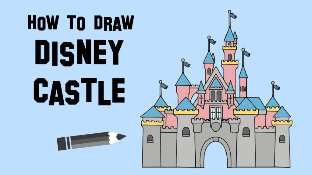 Disney Castle Drawing Disney Castle Drawing Castle Drawing