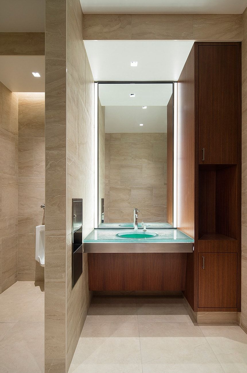 135 hamilton bathroom lit with aion led lights aion led bathroom aion led made its name as an innovator and industry leader in cutting edge linear led lighting solutions aloadofball Gallery