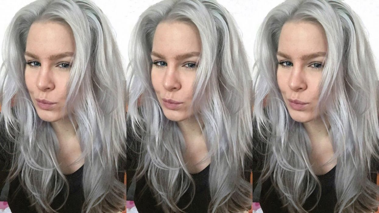 Color Your Hair Grey Best Color Hair For Hazel Eyes Check More At
