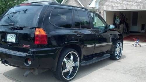 Silver Envoy Rims Custom 2003 Gmc Envoy Xl Slt On 24 Inch Wheels
