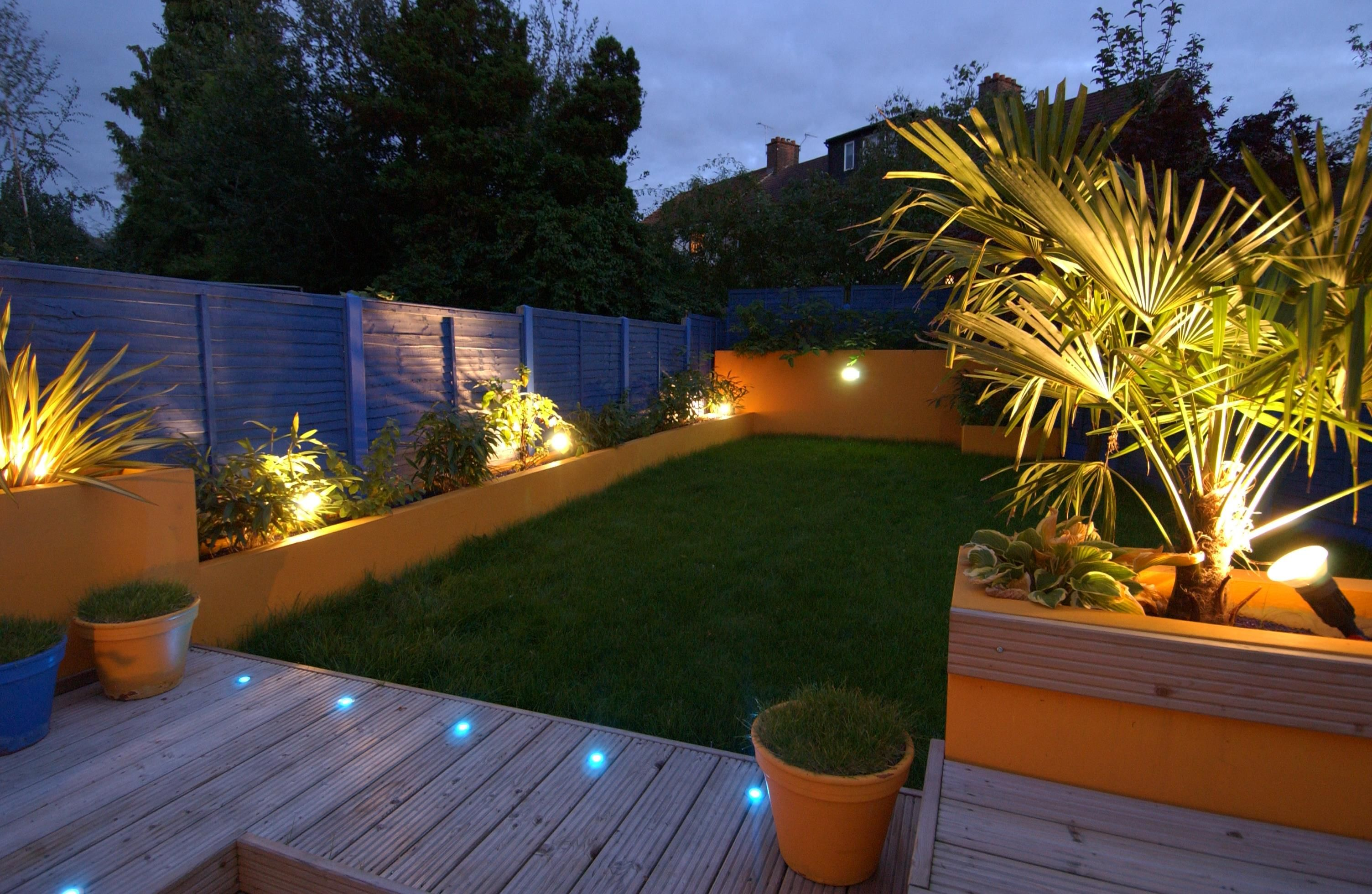 Creative Diy Landscaping With Garden Lights Garden Lighting Design Outdoor Garden Lighting Backyard Landscaping