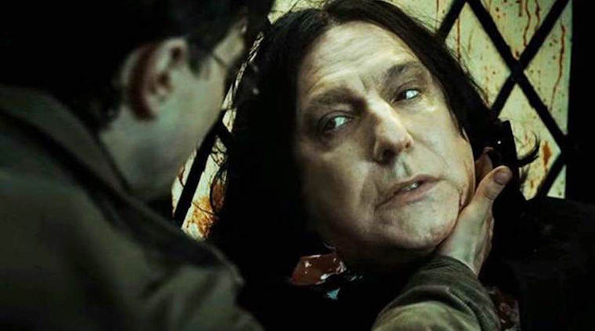 How Would Snape Have Treated Harry Potter If Harry Had Been A Girl Harry Potter Film Kitap
