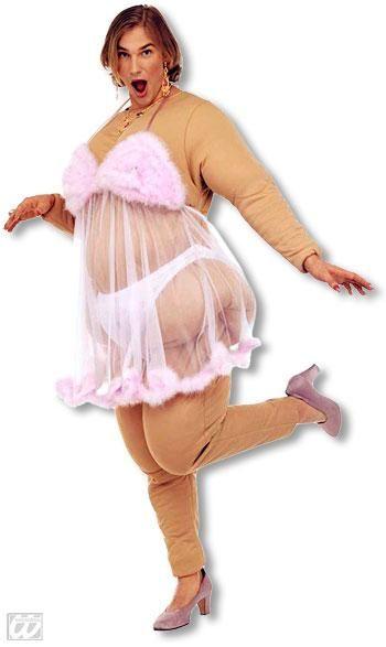 Babsi Fette Stripclub Schonheit Kostum Geburtstag Mann