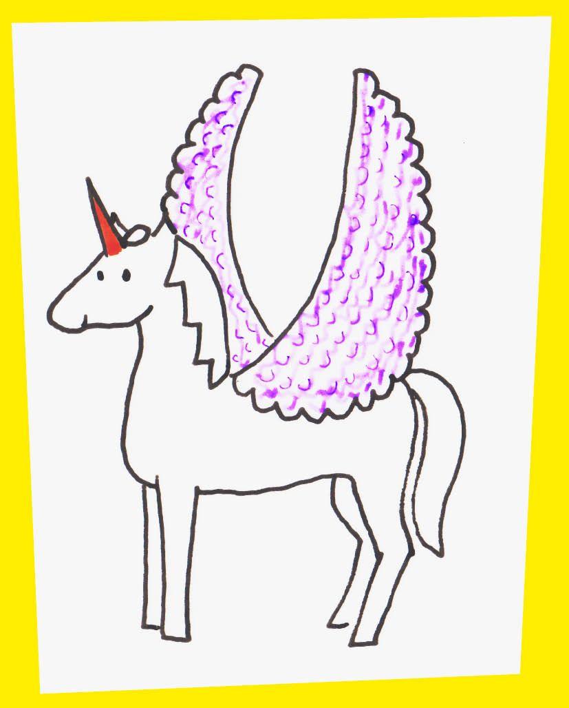 How to make a flying unicorn unicorn writing a book