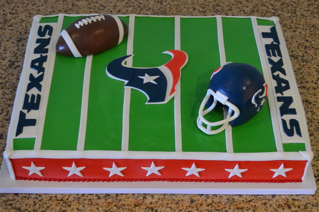 Sugarland Texans Cake Birthday Cakes Pinterest Texans Cake
