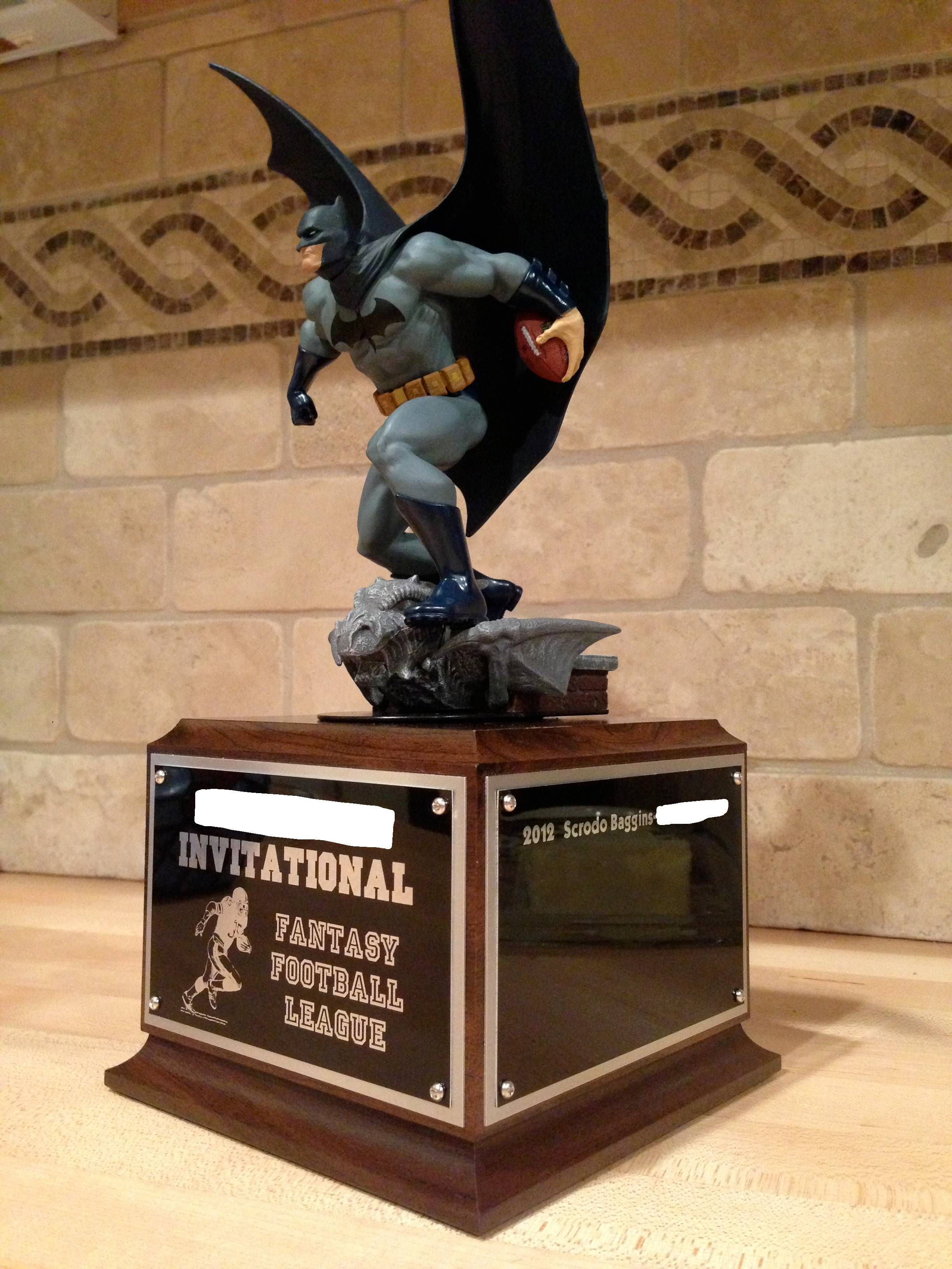 Best Fantasy Football Trophy I Can Find I Want To Make