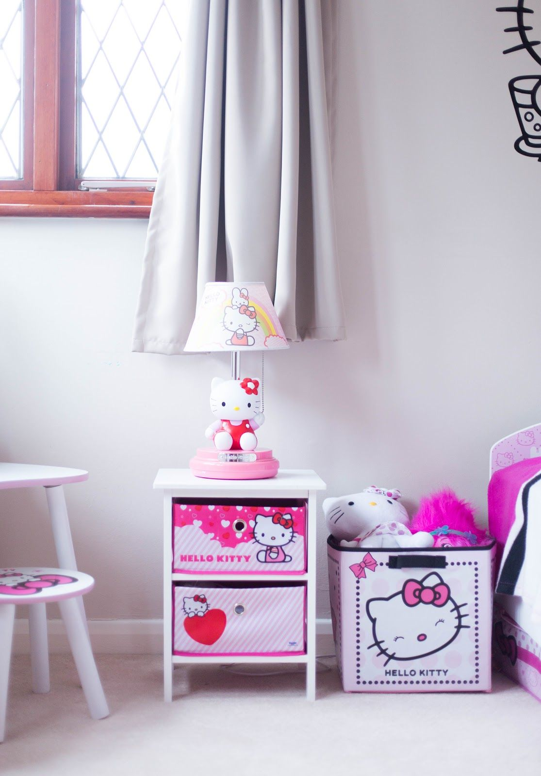 MINI MAKE-OVER: HELLO KITTY BEDROOM | Hello kitty bedroom ...