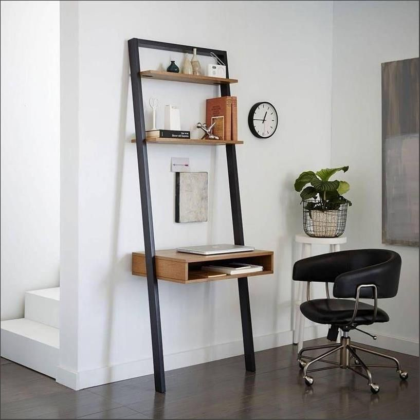 check out 8d726 f7af4 West Elm Ladder Shelf Desk Design ... in 2019 | Ladder shelf ...