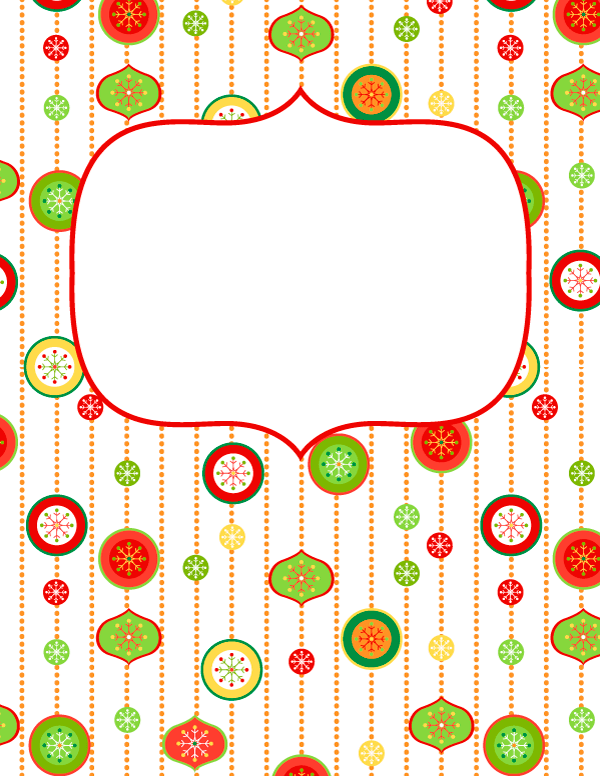 download the cover in jpg or pdf format at httpbindercoversnetdownload christmas ornament binder cover