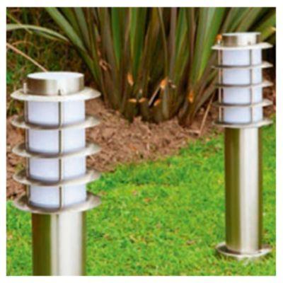 Iluminaci n pinterest postes de luz for Faroles solares para jardin
