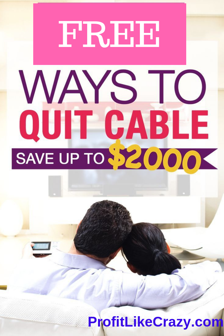 Cut The Cable Cord Free TV Get Rid Of Cable Today in