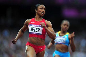 Carmelita Jeter Olympics London 2012 Day 7 - Athletics