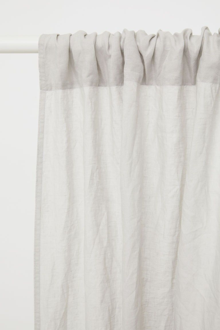 2 Pack Linen Curtain Panels Linen Curtains Linen Curtain Panels