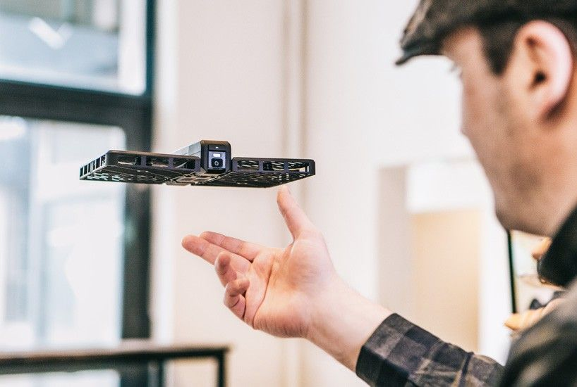 Apple S Latest Product Is The Hover Camera Passport Autonomous Drone That Uses Advanced Facial Recognition Technology To Fo Drone Camera Drones Concept Drone
