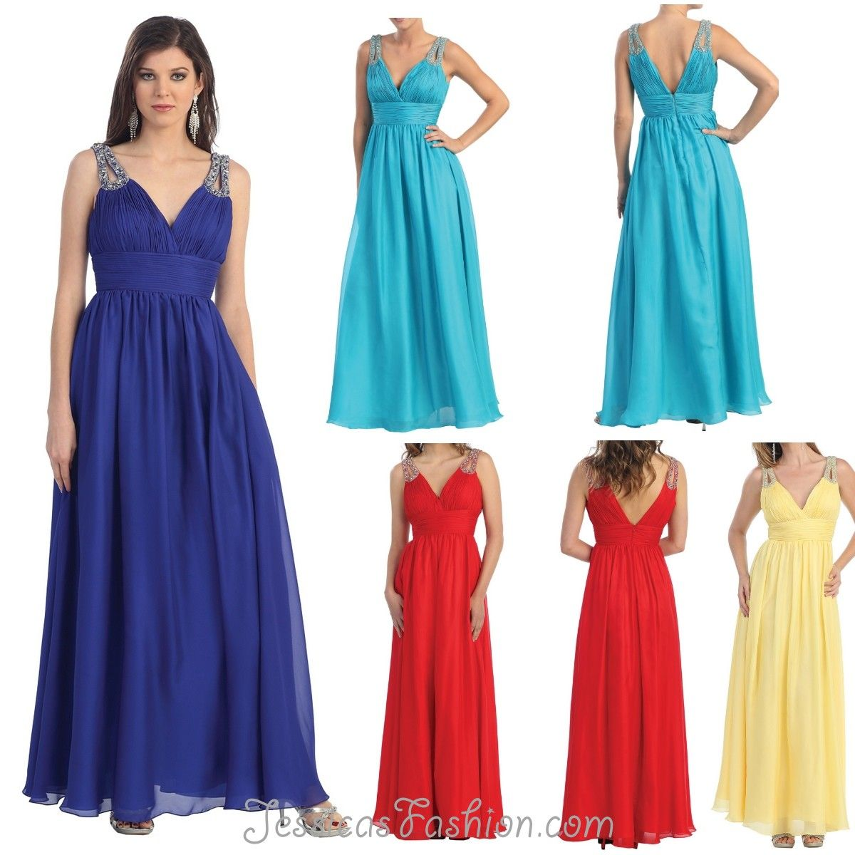 Long bridesmaid dress in color blue black u more beaded style in