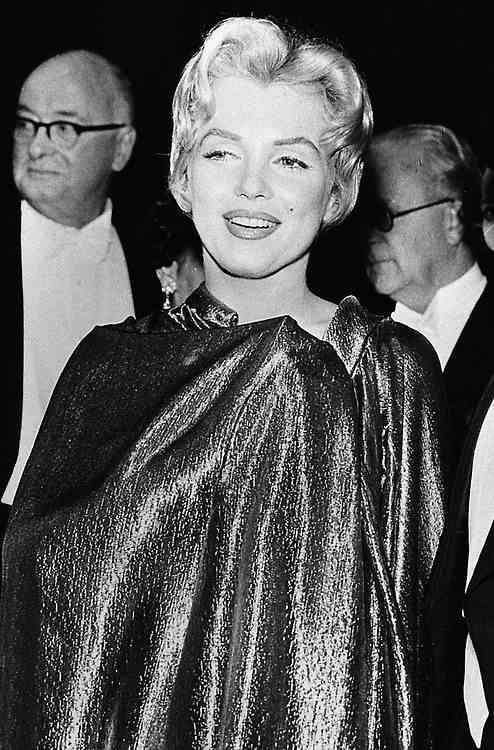 Marilyn At The Royal Command Performance Of The Battle Of The