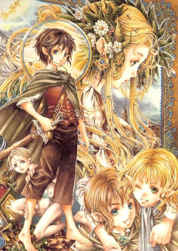 Lord Of The Rings Anime Lord Of The Rings Anime Anime Style