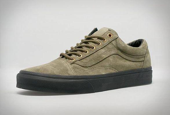 Vans old skool, Green suede shoes, Vans