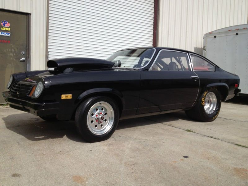1974 Chevy Vega Drag Race Car - 355 sbc, T-350, Ladder Bars ...