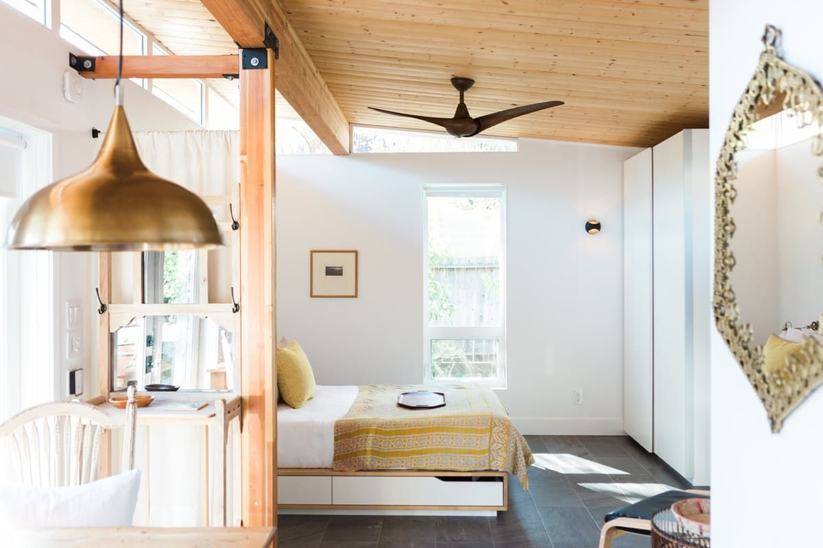 Modern California Guesthouse 364 Sq Ft Tiny Guest House