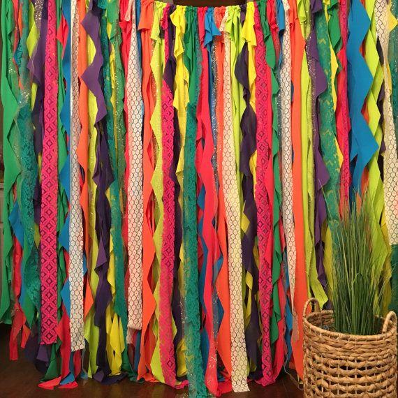 Fiesta Backdrop Dia De Los Muertos Decor by WithLOVEeventdecor