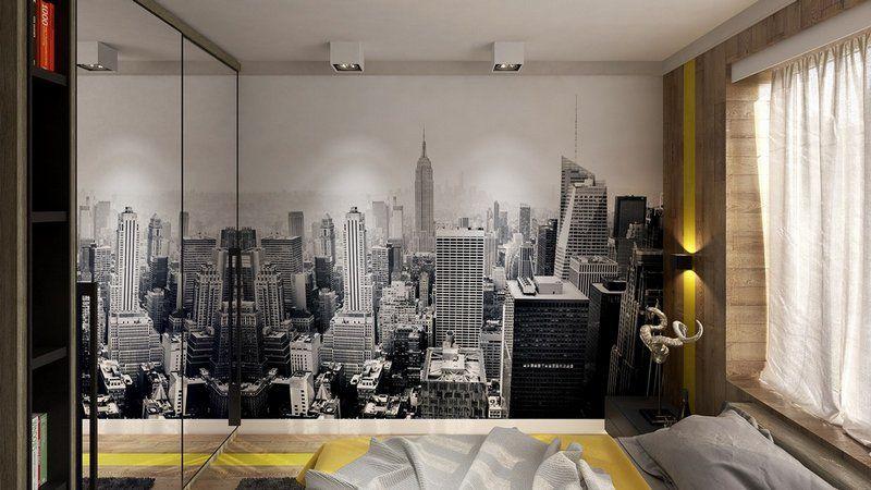 Chambre style New York, idées à thème Londres et voyages!